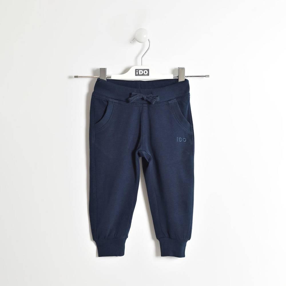 Штаны для мальчика iDO спортивные хлопок трикотаж 4.W186.00