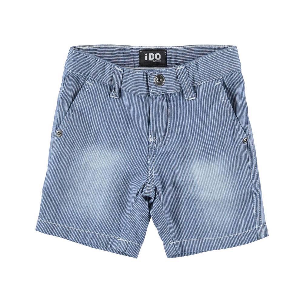 Шорты для мальчика iDOджинсовые длина до колена 4.W699.00/7400