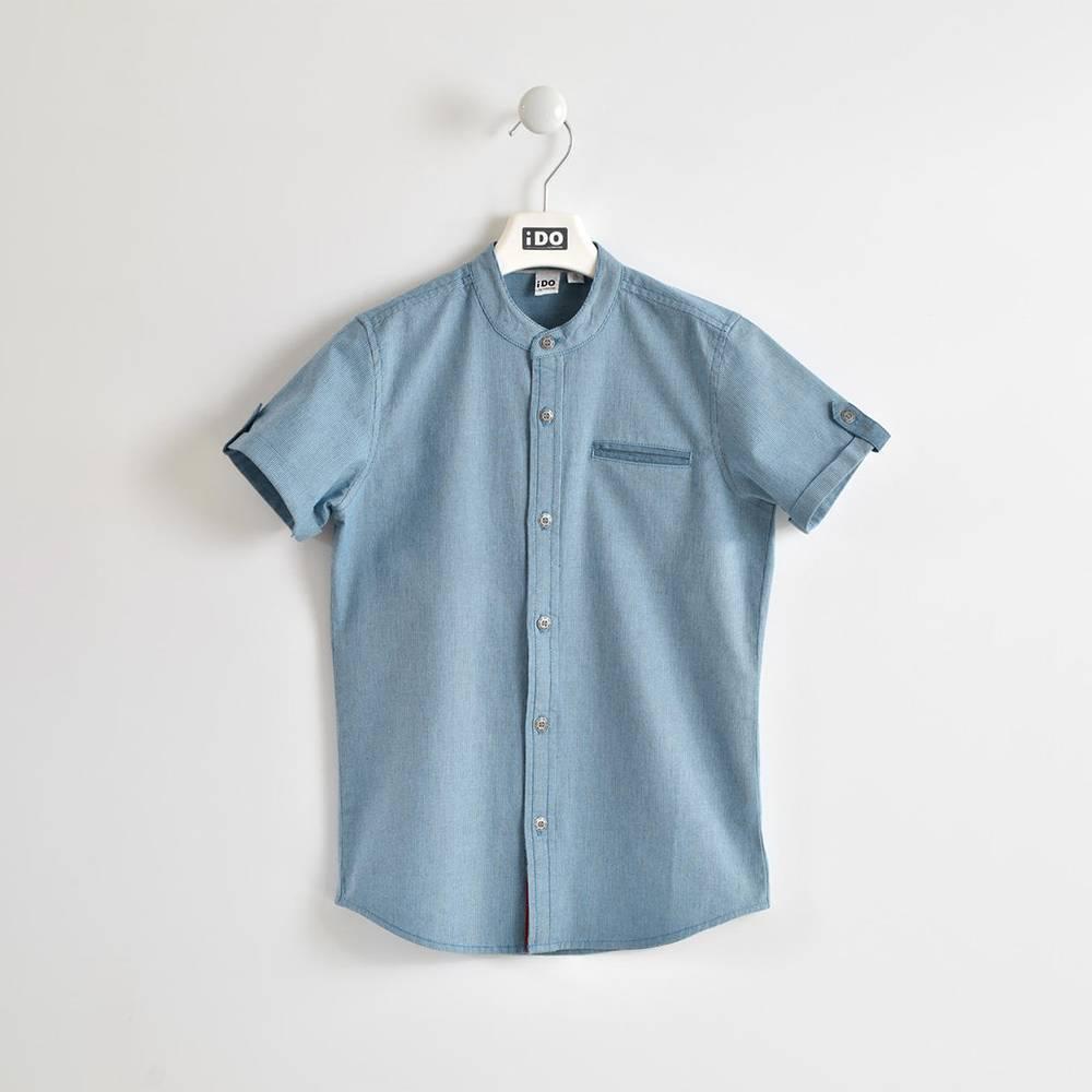 Рубашка для мальчика iDO классическая летняя 4.W854.00/3727