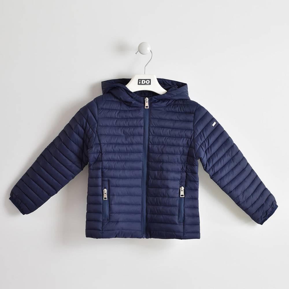 Куртка для девочки iDO демисезонная стеганая с капюшоном 4.W039.00