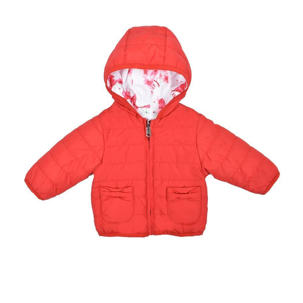 Куртка iDO для девочки iDO демисезонная двухсторонняя 4.W115.00/8029