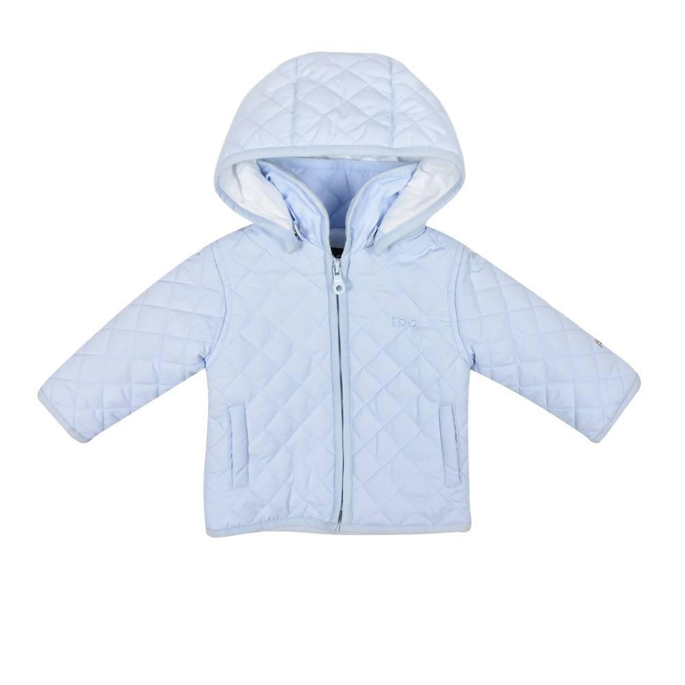 Куртка детская iDO демисезонная стеганная с капюшоном 4.W117.00