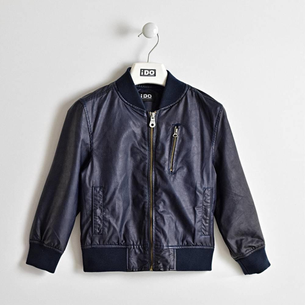 Куртка для мальчика iDO демисезонная єкошкожа бомбер 4.W436.00/3885