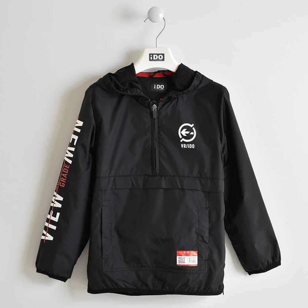 Куртка для мальчика iDO демисезонная тонкая ветровка 4.W437.00/0658