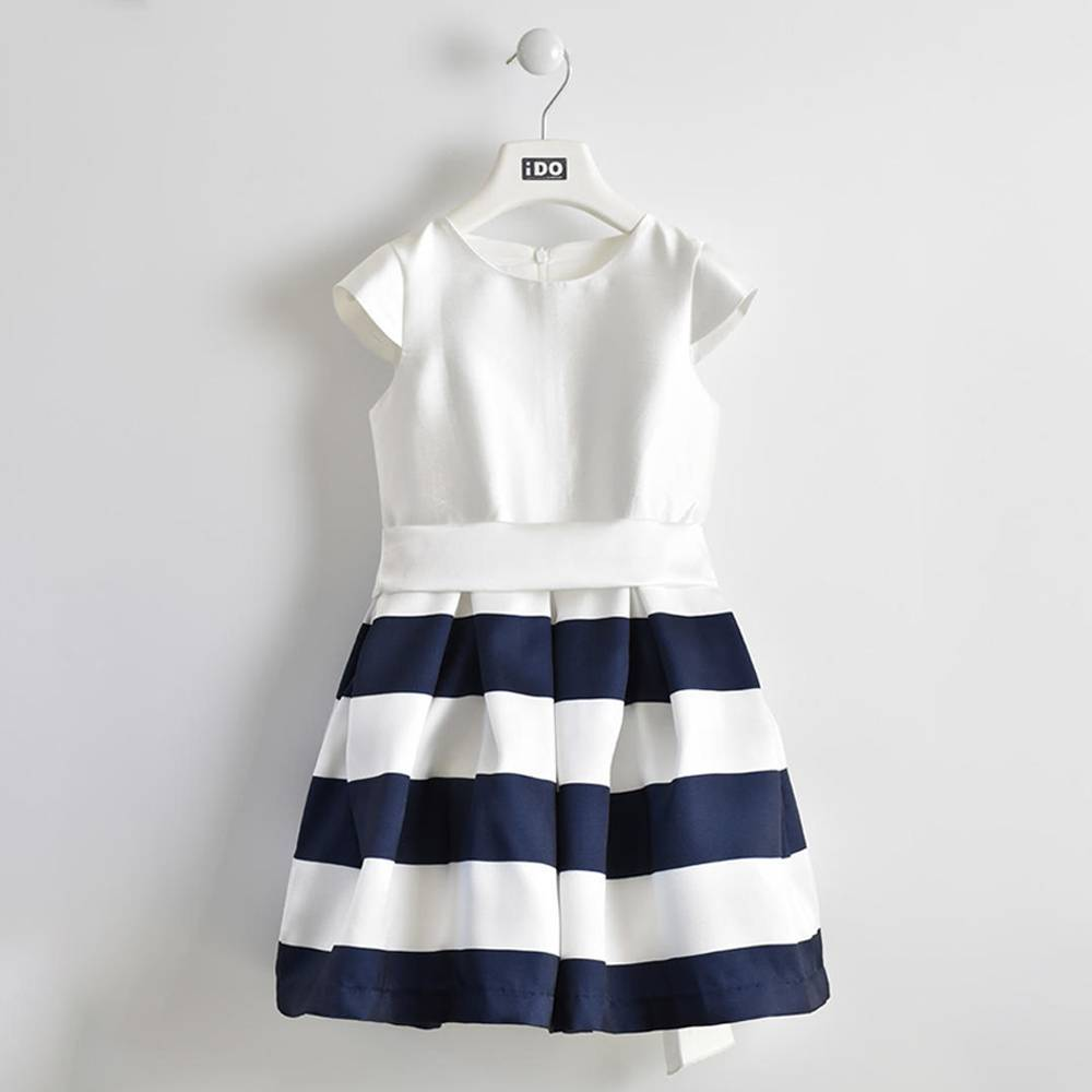 Платье для девочки iDO летнее без рукава нарядное на подкладке 4.W550.00/6FV8