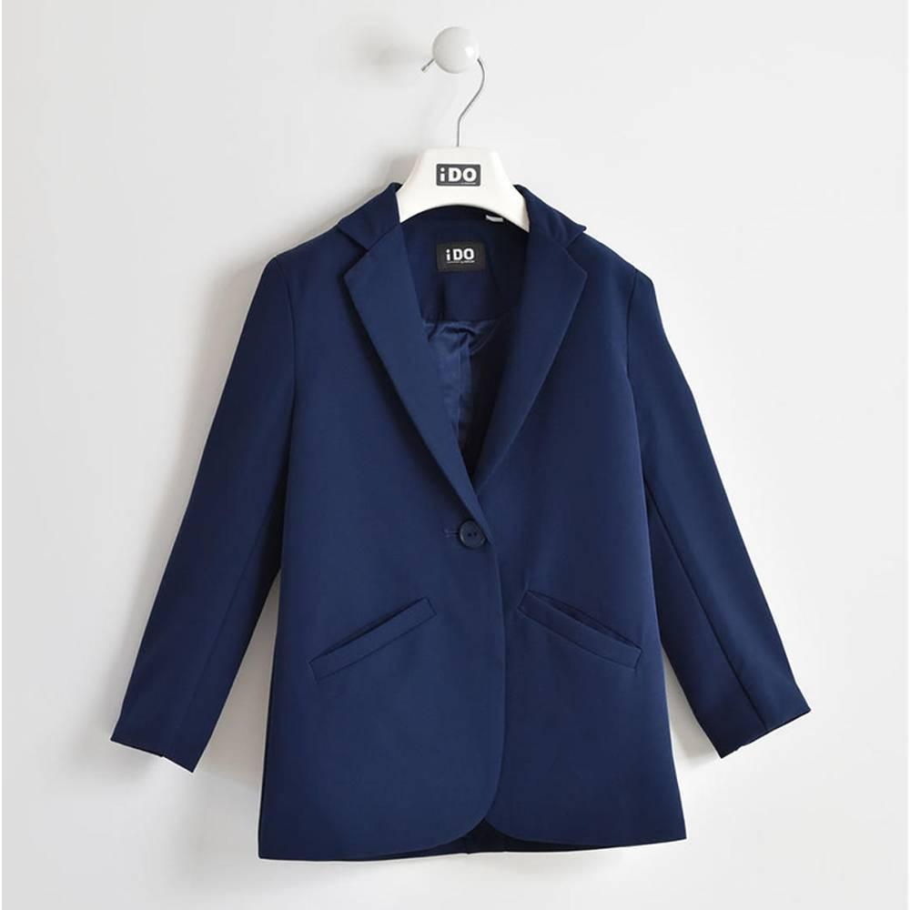 Пиджак для девочки iDO єлегантный глубокий вырез 4.W570