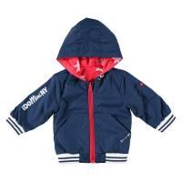 Куртка для мальчика iDO двухсторонняя демисезонная с капюшоном 4.W078.00/3885