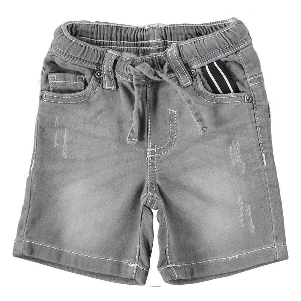 Шорты для мальчика iDO джинсовые выбеленные 4.W701.00/7992