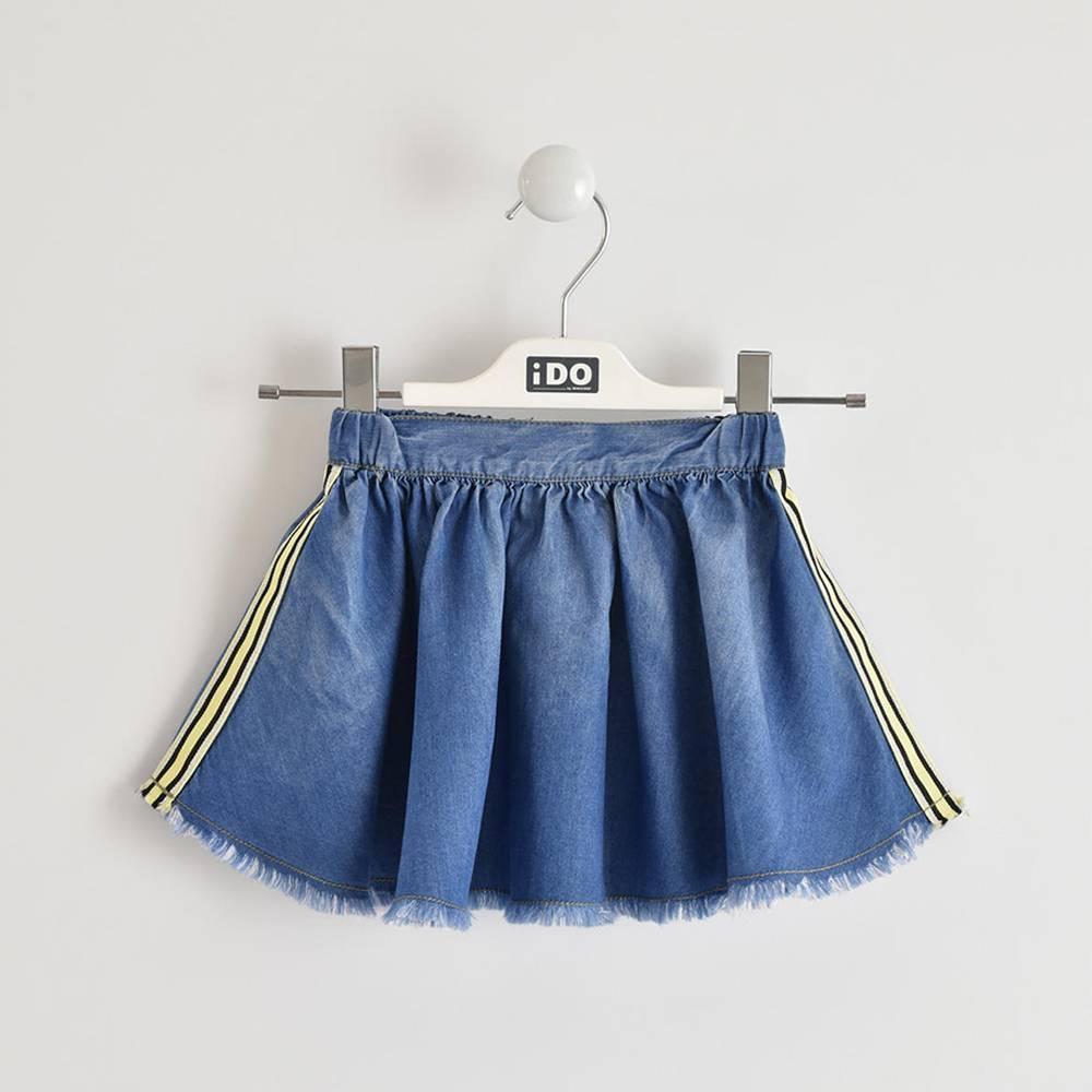 Юбка для девочки iDO джинсовая 4.W788.00/7350