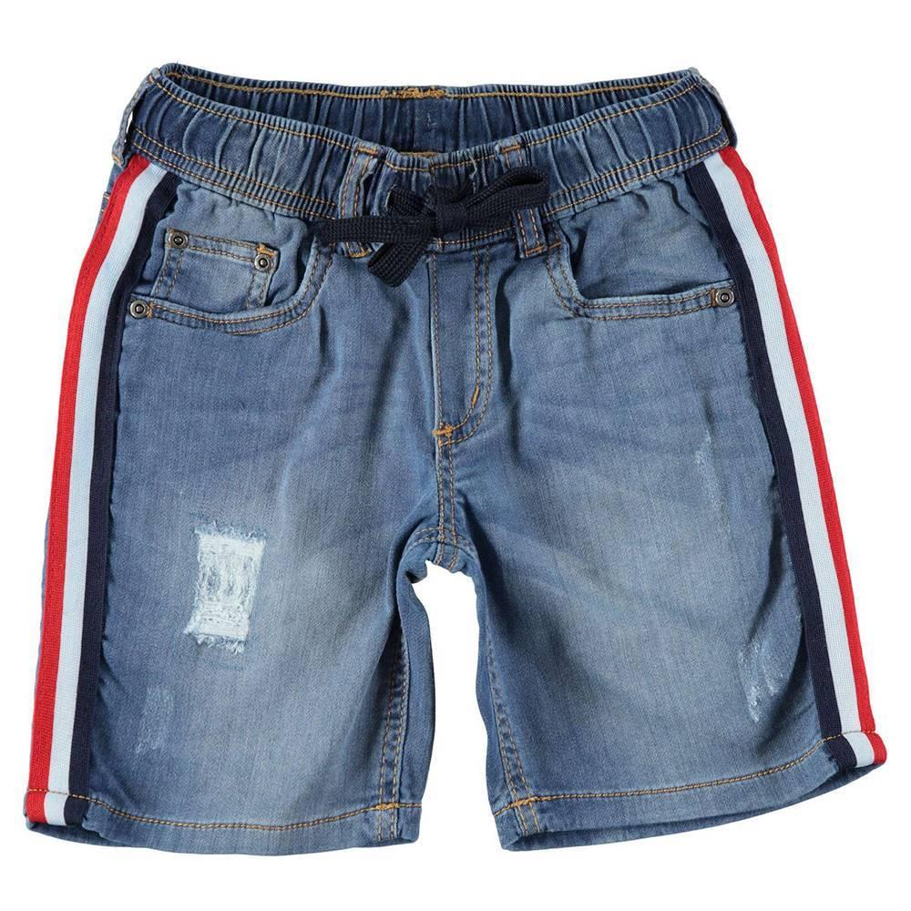 Шорты для мальчика iDO подростка джинсовые 4.W831.00/7400
