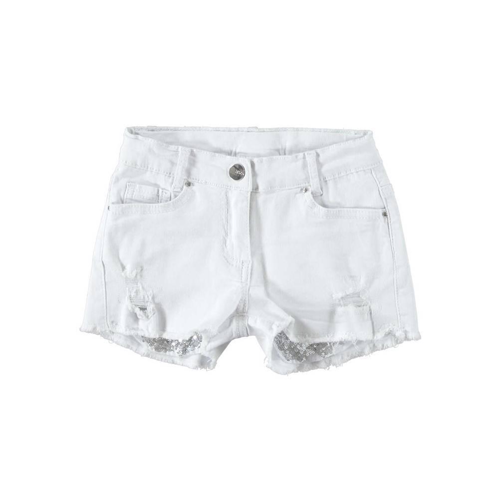 Шорты для девочки iDO подростка карманы с блестками 4.W891.