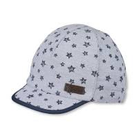 Бейсболка для мальчика STERNTALER серый принт 1611923/566