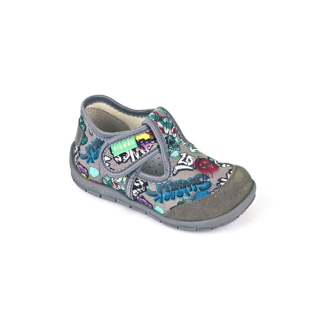 Тапочки для мальчика Froddo G1700132-3/Grey