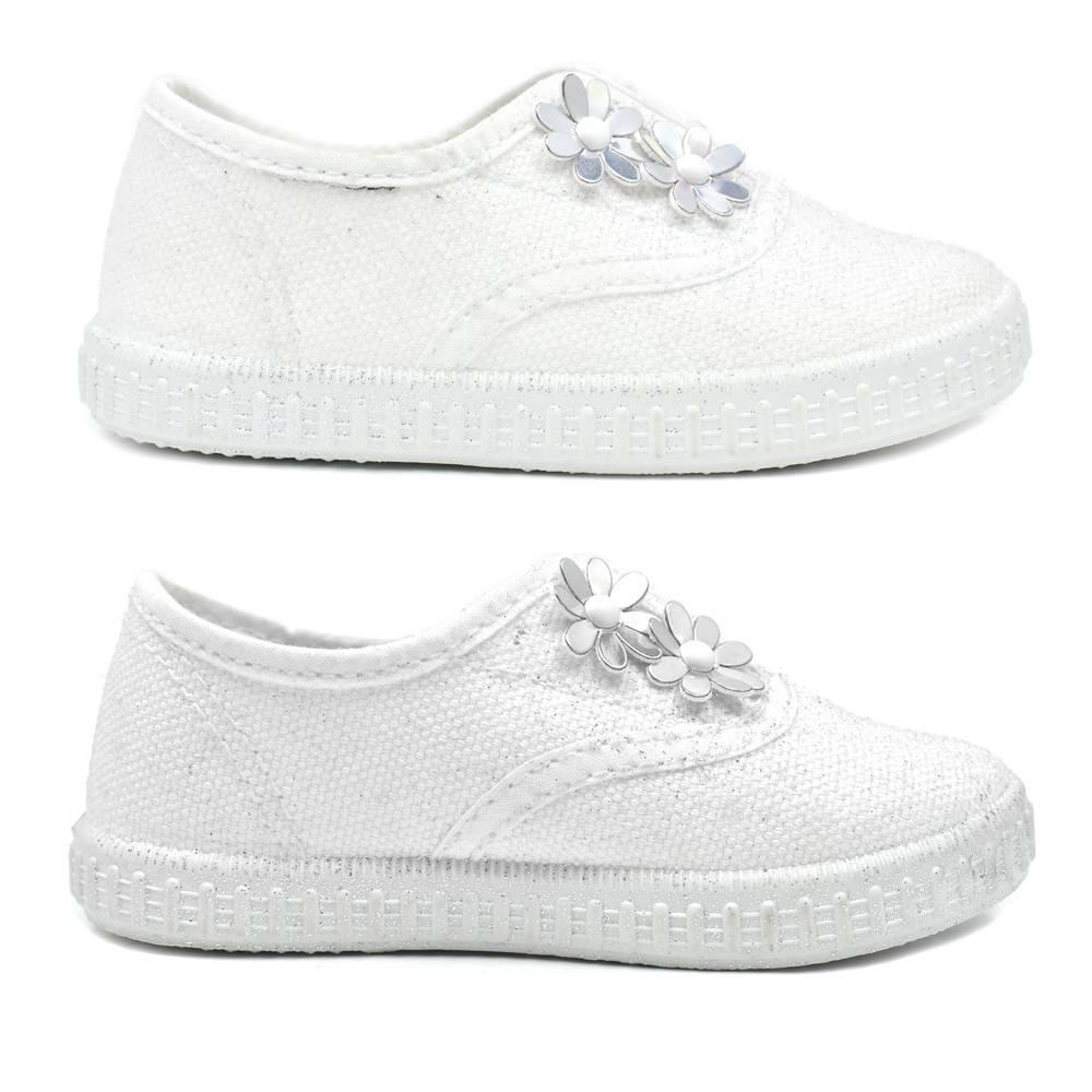 Кроссовки для девочки IDO летние белые 4.W284.00/0113