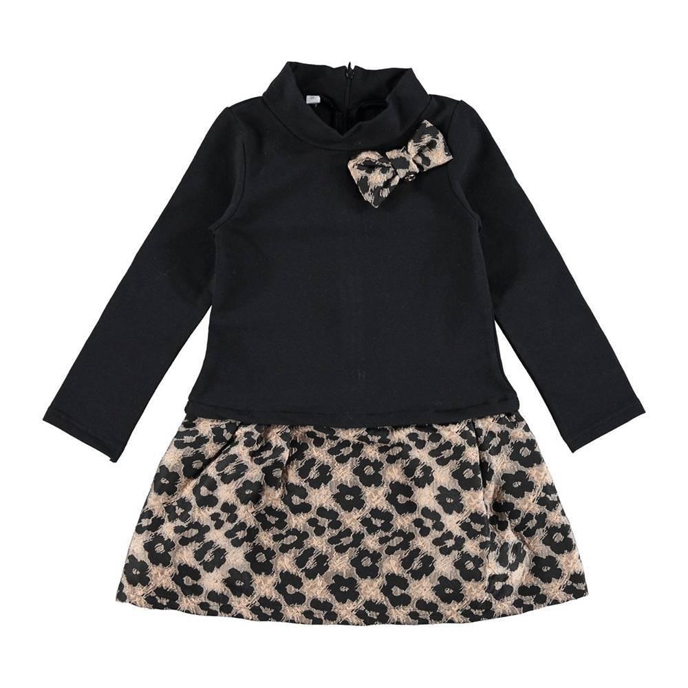 Платье для девочки iDO черный 4.R946.00/0658
