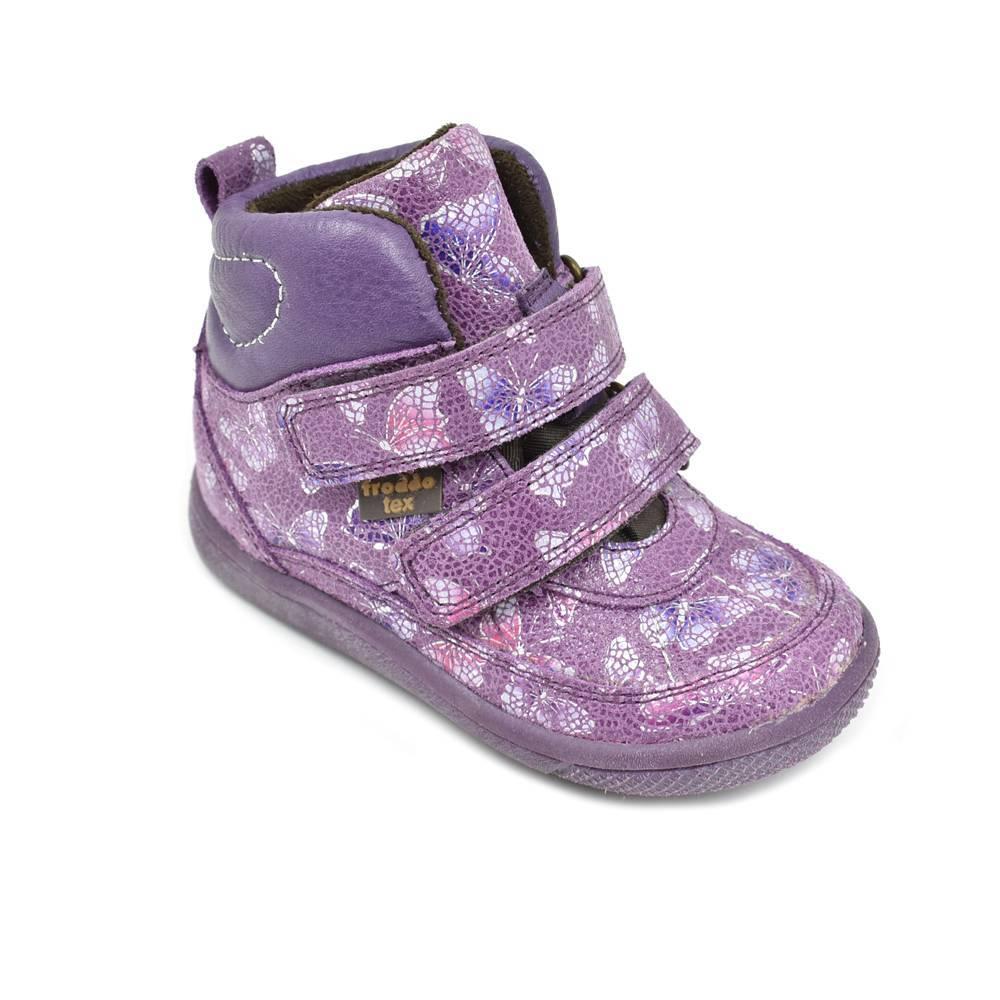 Ботинки для девочки Froddo демисезонные FRODDO TEX G2110074/violet