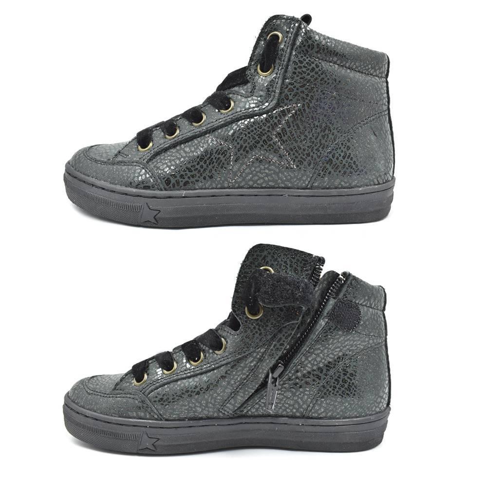 Кроссовки для девочки Froddo демисезонные G3110125-5BLACKGREY