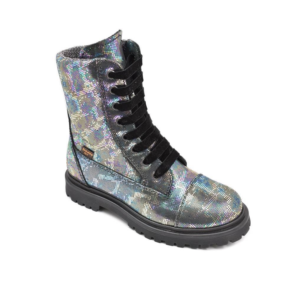 Ботинки для девочки Froddo зимние натуральная кожа на молнии G3110139-1