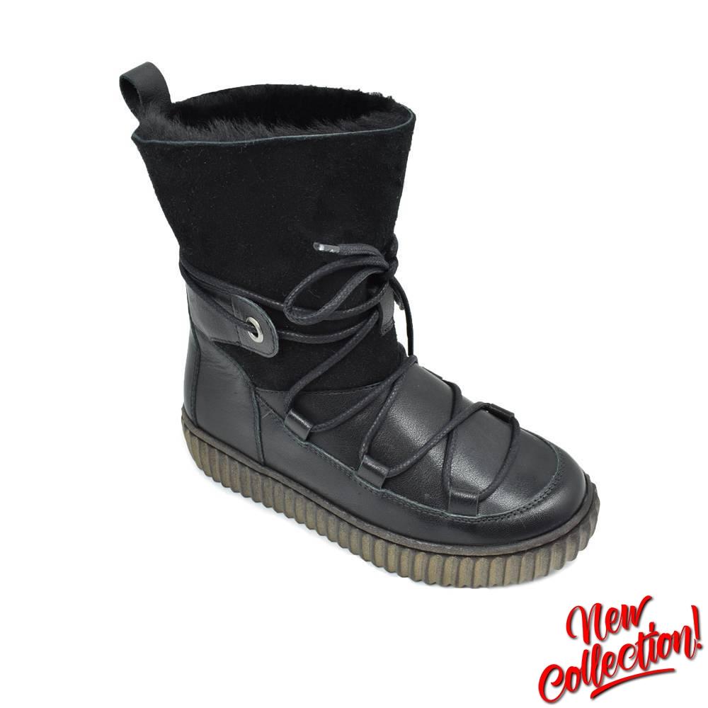 Сапоги для девочки Froddo зимние черный G3160114-2mBlack