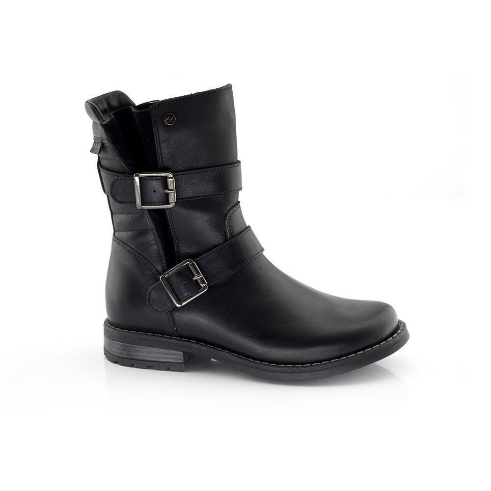Сапоги для девочки Froddo демисезонные на молнии G4160032-4/Black