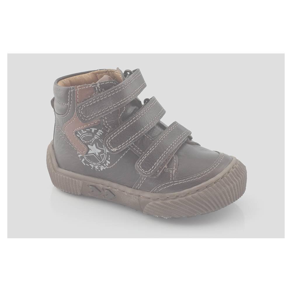 Ботинки для мальчика Froddo демисезонные на липучке G2110037-1/DARK-BROWN