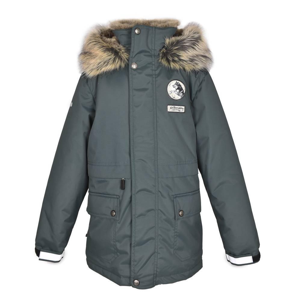 Парка для мальчика подростка LENNE куртка зимняя капюшон ткань Aktiv NASH