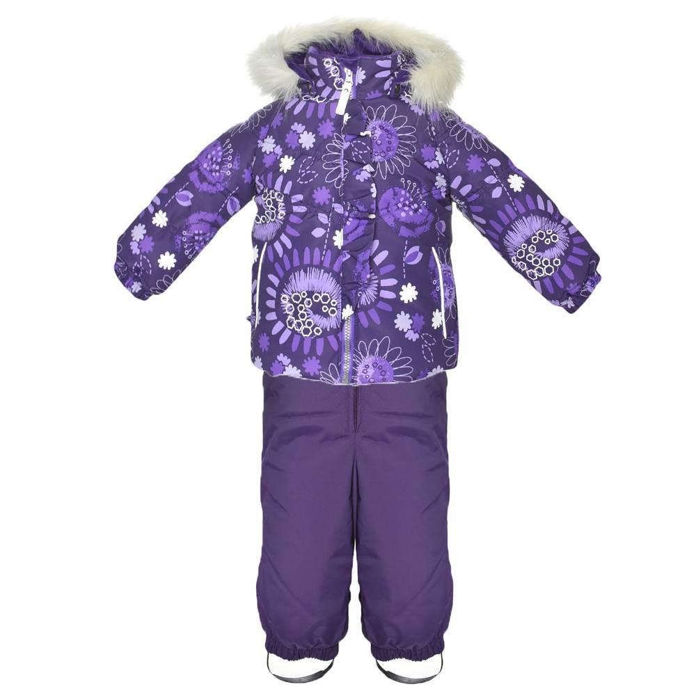 Комплект для девочки LENNE зимний куртка полукомбинезон MIIA