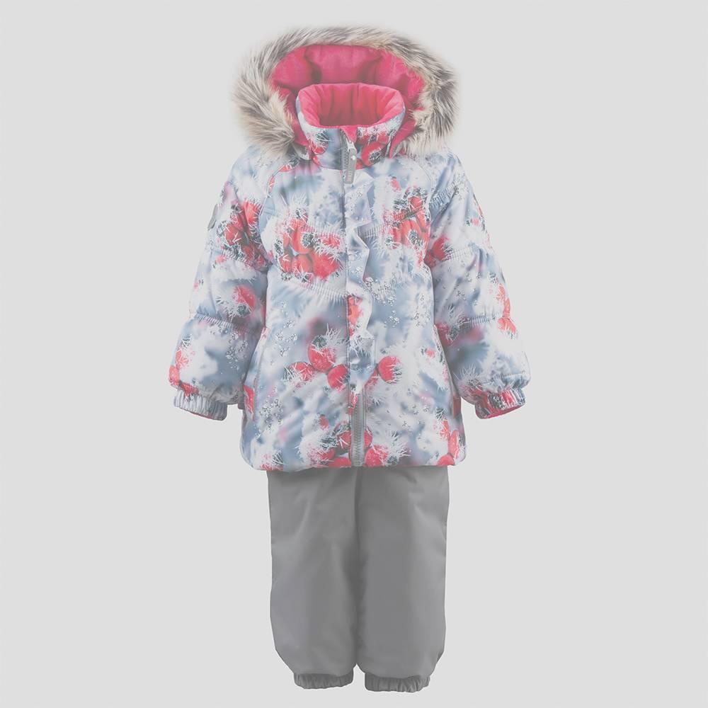 Комплект для девочки LENNE MINNA зимний куртка полукомбинезон