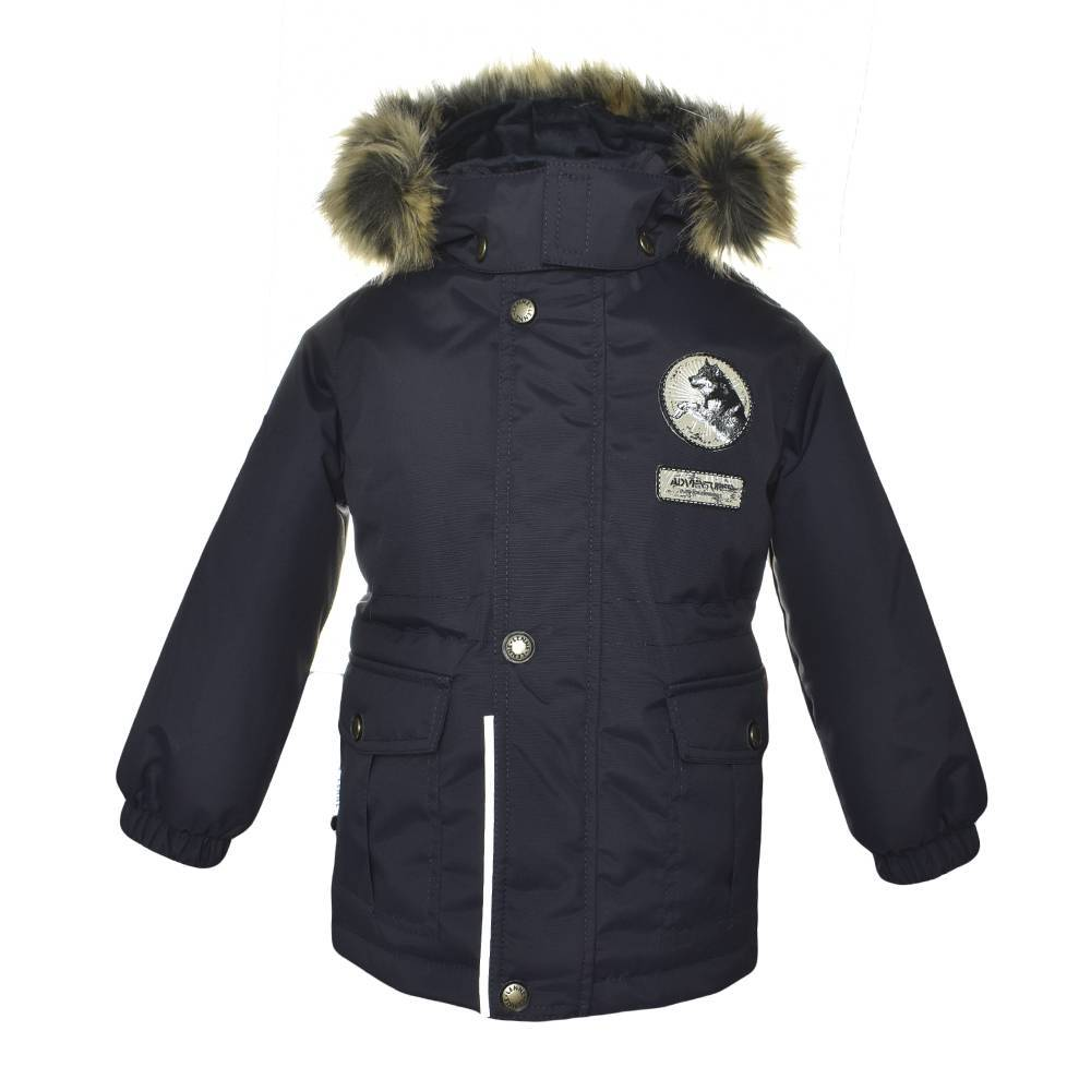 Парка для мальчика LENNE куртка зимова капюшон тканину Aktive PLUS WOLF