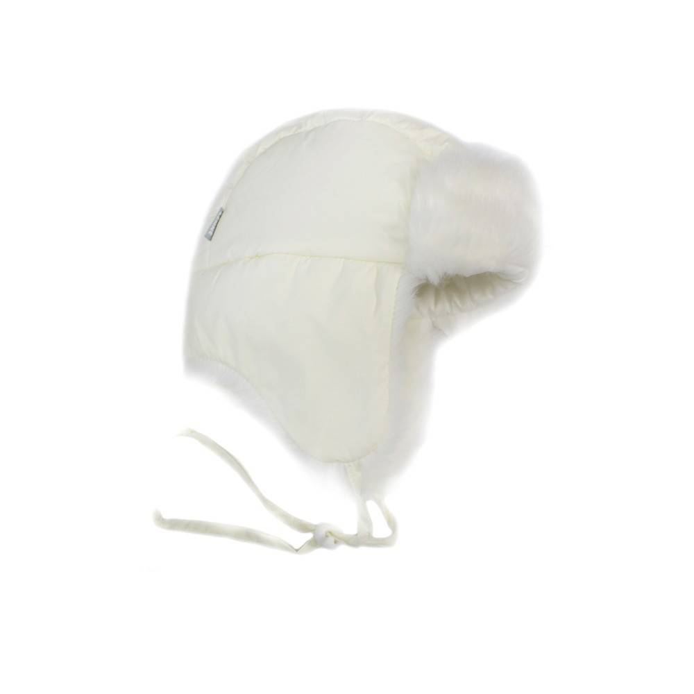 Шапка ушанка детская LENNE ALDO ткань Active на завязках