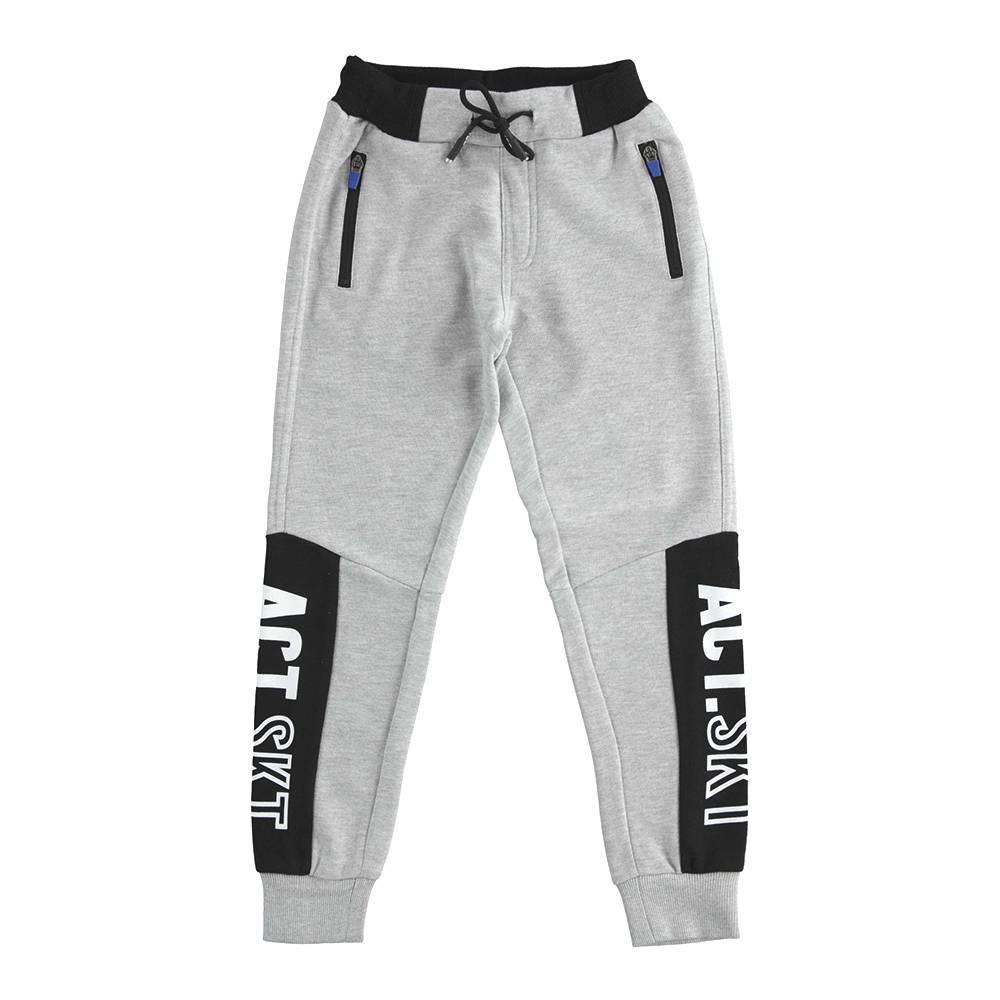 Спортивные штаны для мальчика iDO подросток трикотаж хлопок 4.K760.00/8992
