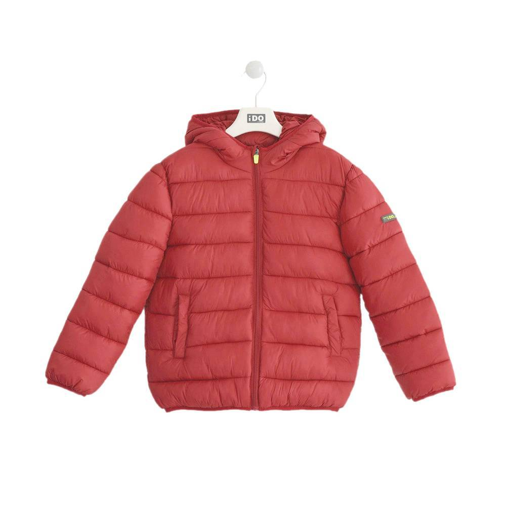 Куртка для мальчика iDO подросток демисезонная стеганная утепленная 4.K701.00