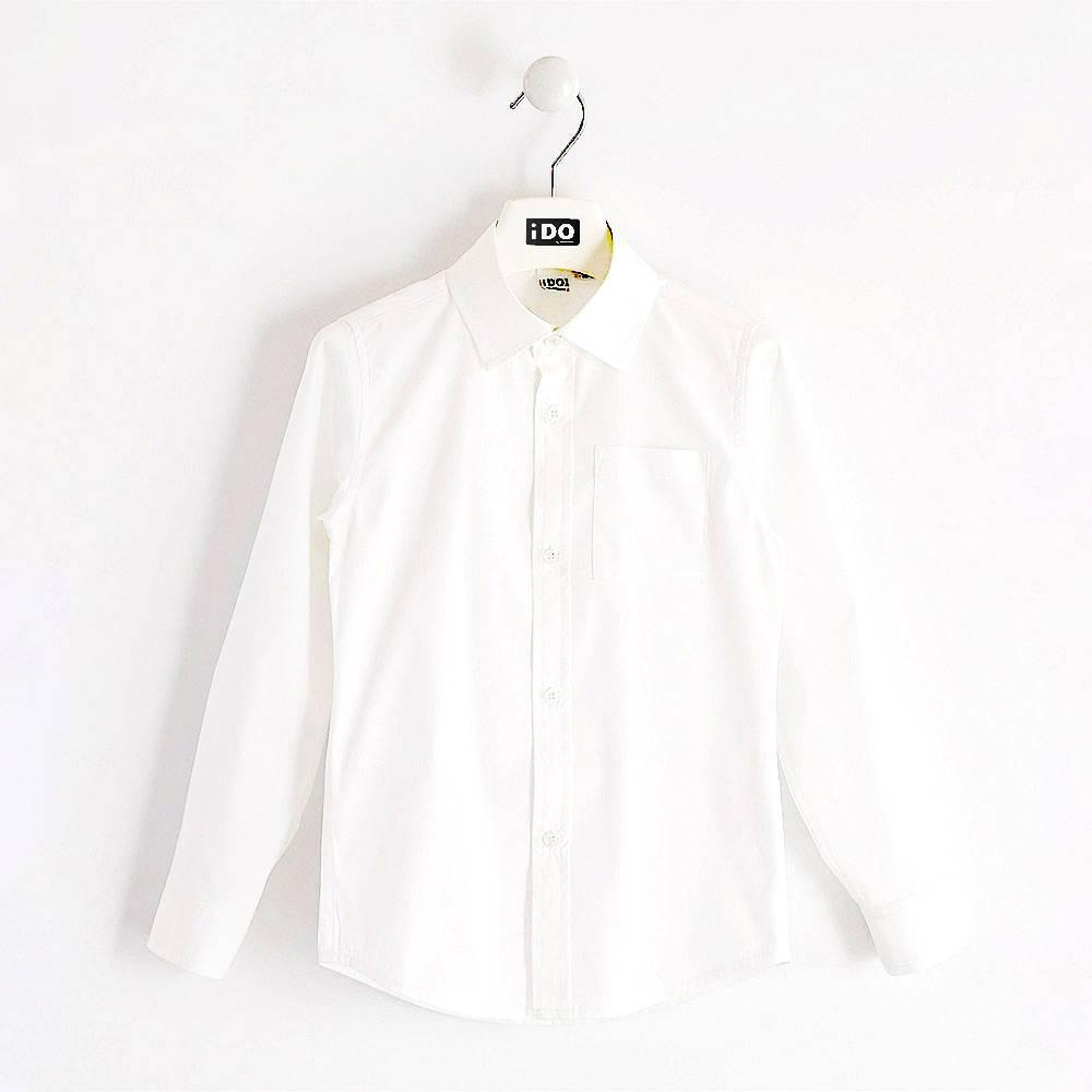 Рубашка для мальчика iDO подросток классика 4.K713.00/0113