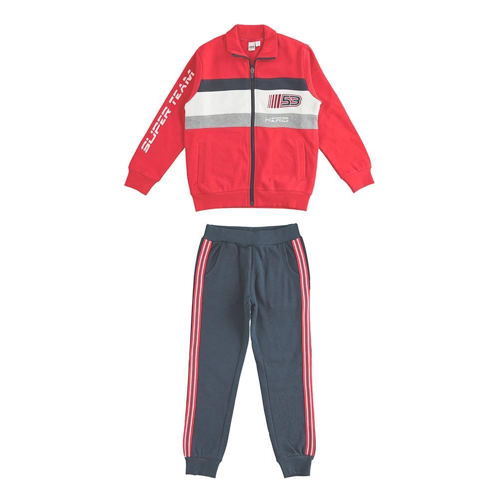 Комплект для мальчика iDO подросток спортивный трикотажный 4.K825.00