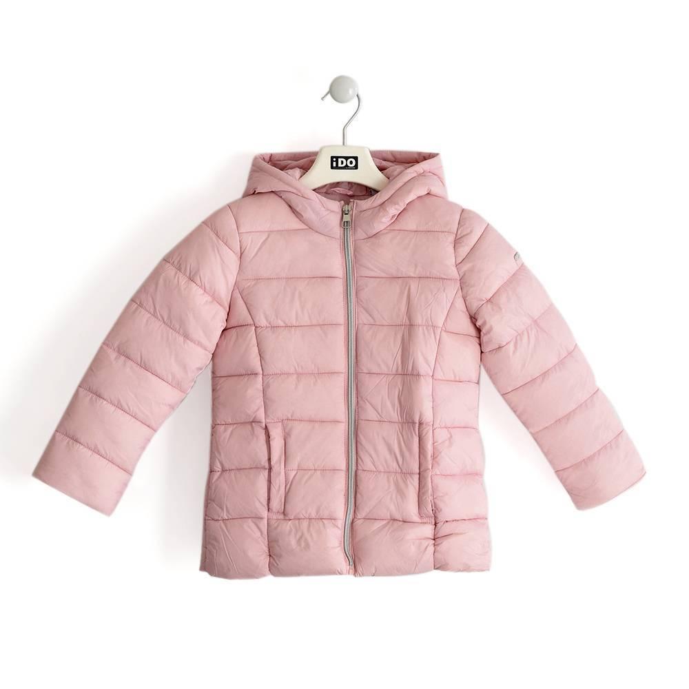 Куртка для девочки iDO подросток демисезонная утепленная с капюшоном 4.K982.00/2715