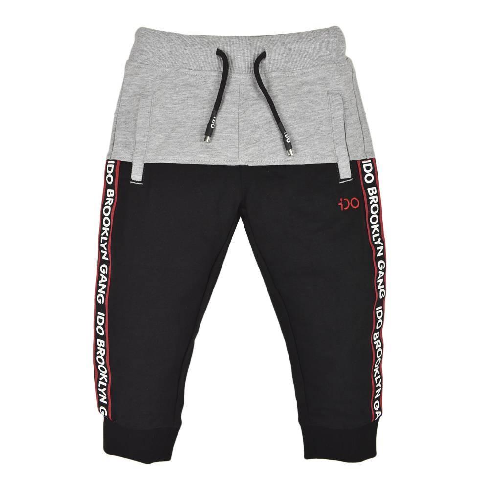 Спортивные штаны для мальчика iDO трикотаж пояс с кулиской 4.K559.00/0658