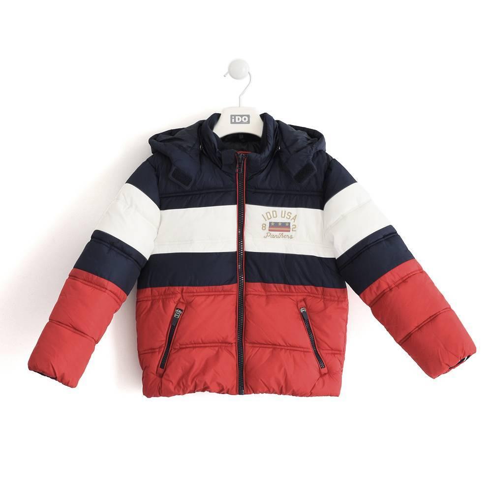 Куртка для мальчика iDO подросток демисезонная стеганная 4.K800.00/3885