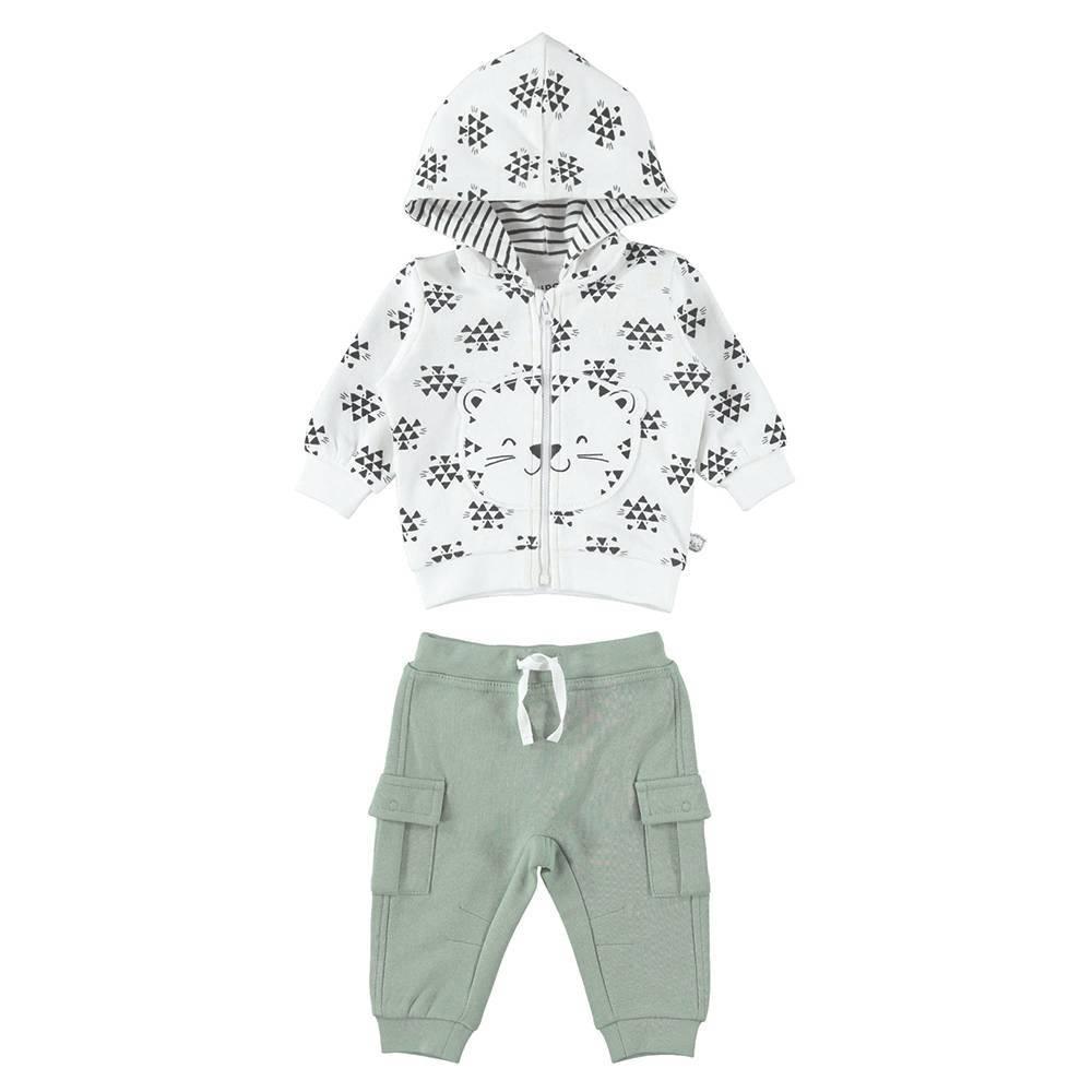 Комплект детский iDO спортивный толстовка штаны трикотаж хлопок 4.K208.00/6LF7