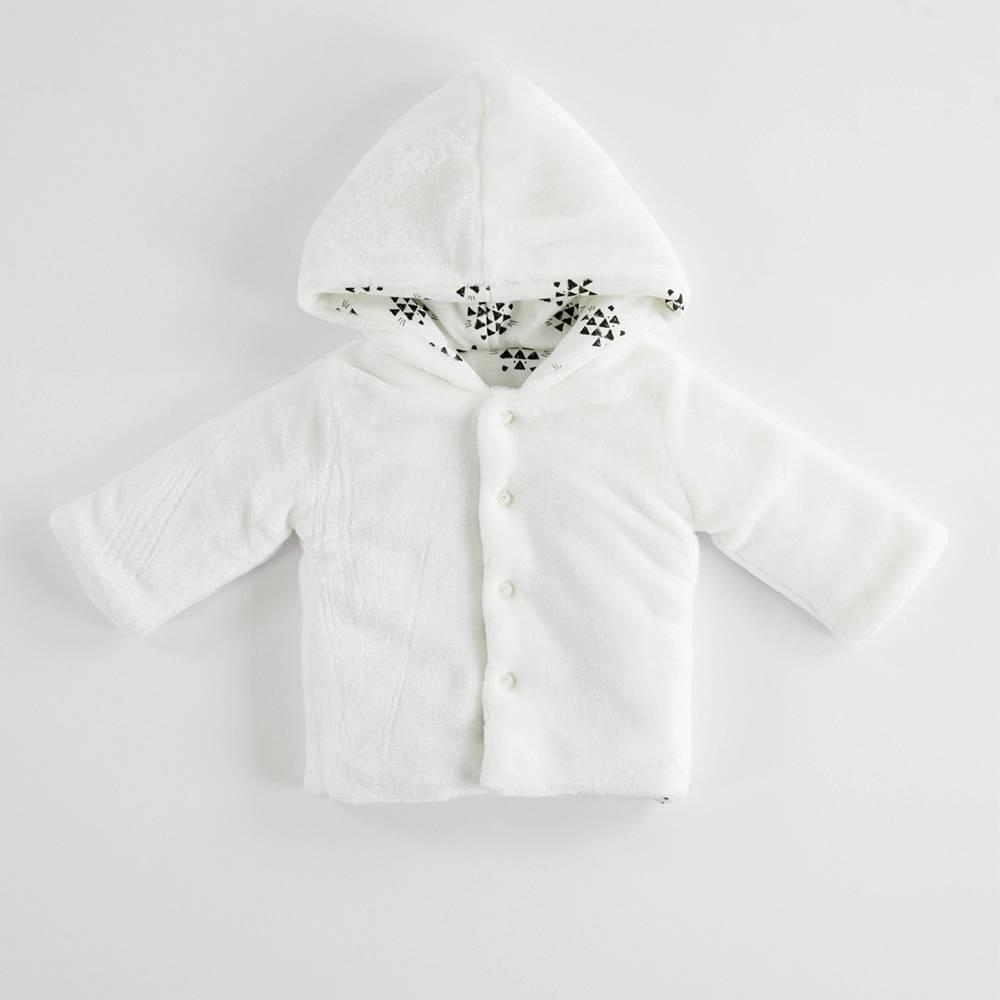 Куртка детская iDO демисезонная двухсторонняя с капюшоном стеганная 4.K248.00/0112