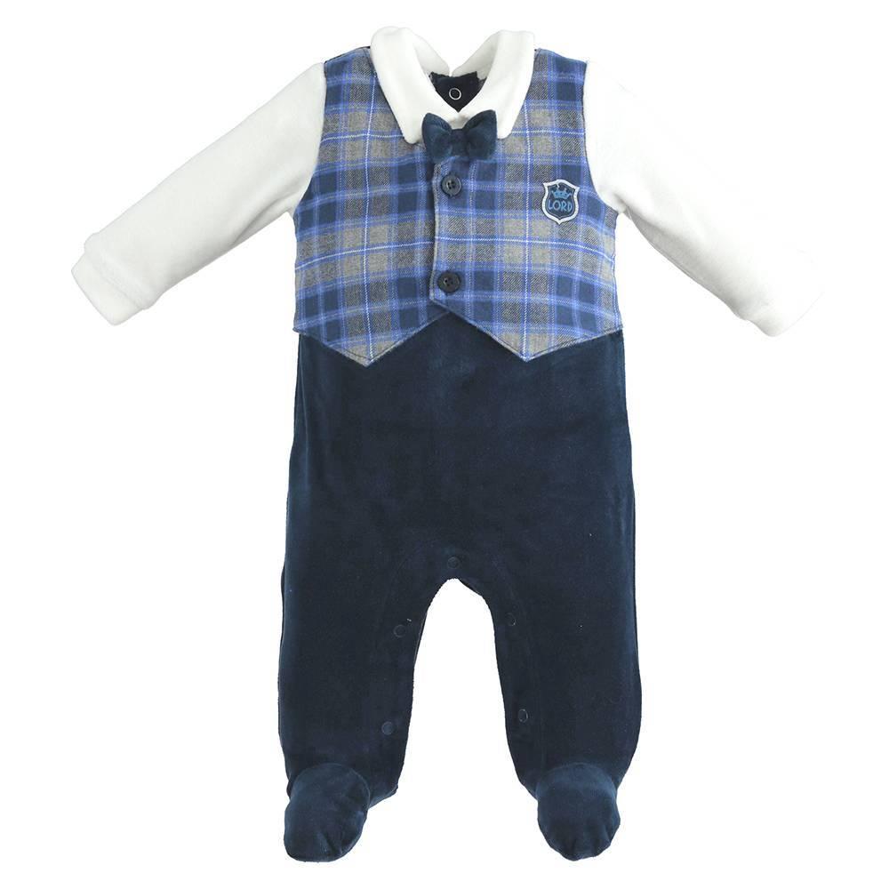 Человечек для мальчика iDO комбинезон принт имитация костюма 4.K216.00/3885