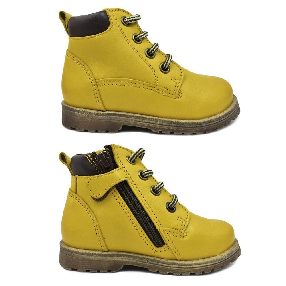 Ботинки детские Froddo демисезонные шнурки молния G2110076