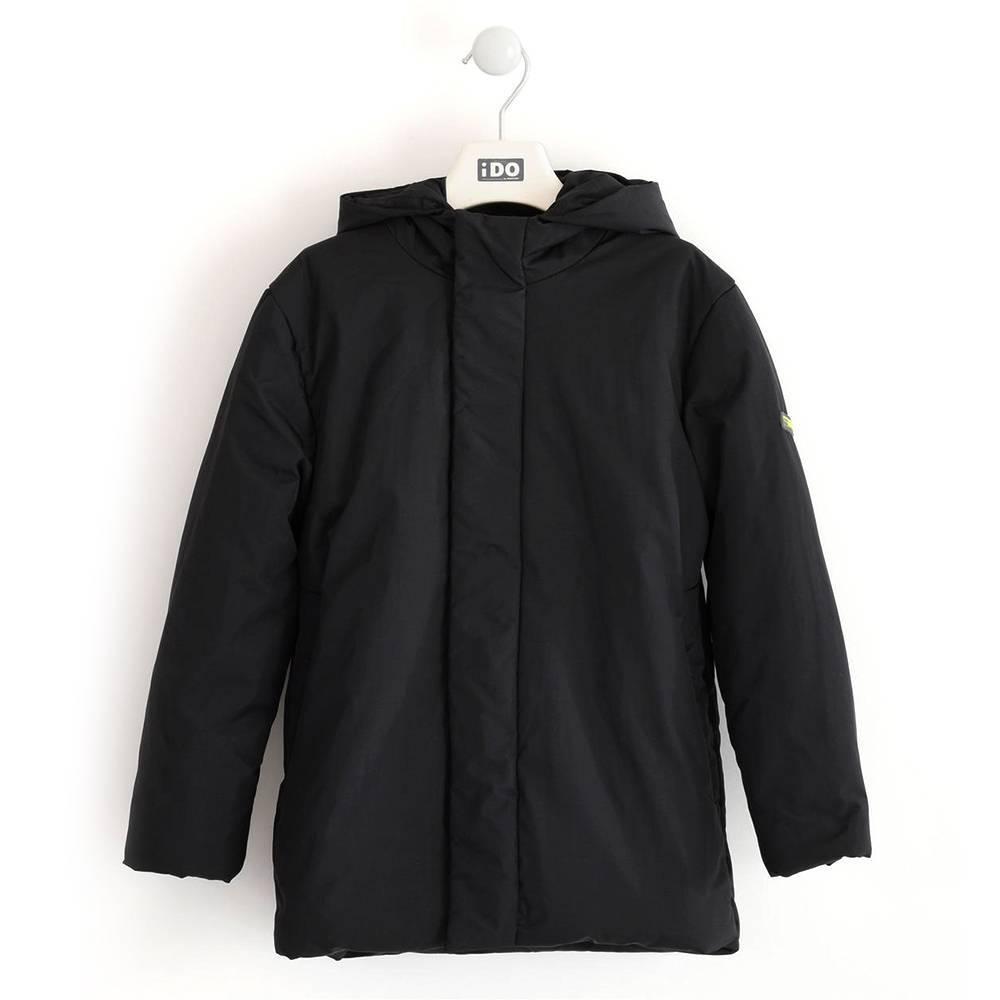 Куртка для мальчика iDO подросток демисезонная капюшон 4.K805.00/0658