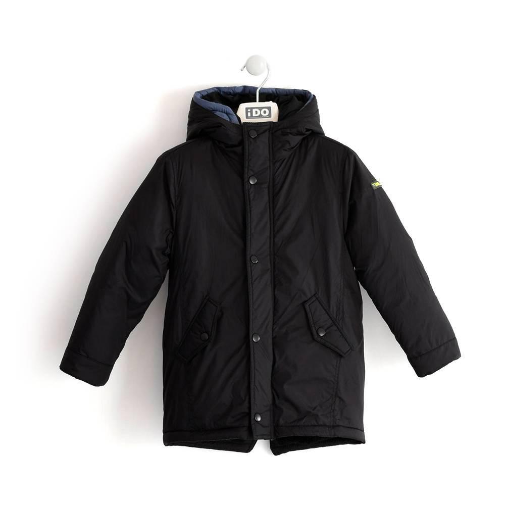 Куртка для мальчика iDO подростка зимняя 2 в 1 4.K806.00/0658