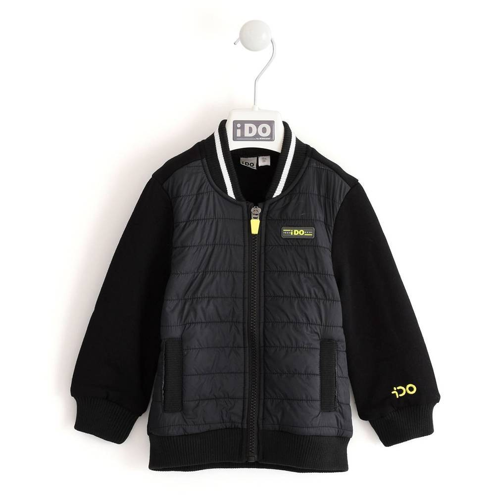 Куртка бомбер для мальчика iDO демисезонная 4.K535.00/0658