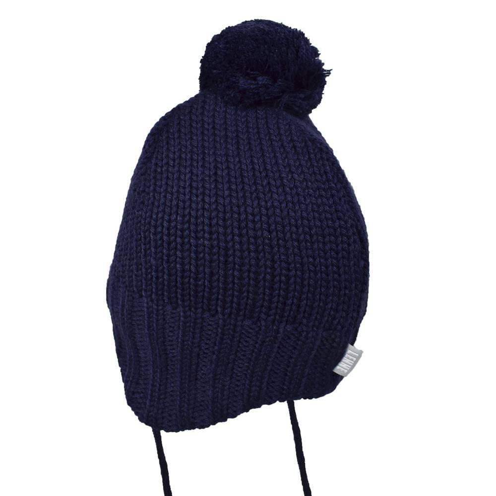 Шапка для мальчика LENNE зимняя на завязказ помпон JENO