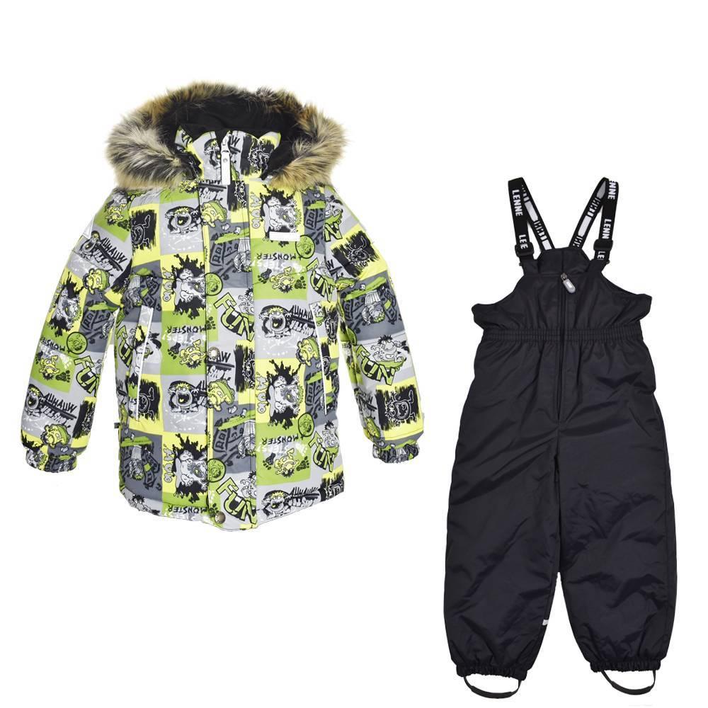 Комплект для мальчика LENNE зимний куртка полукомбинезон ROB