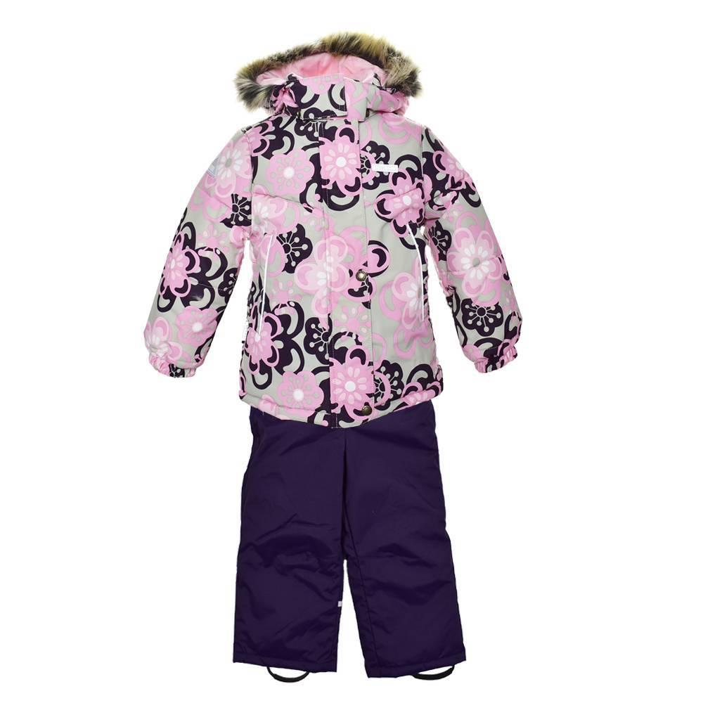 Комплект для девочки LENNE зимний куртка полукомбинезон ROOSA
