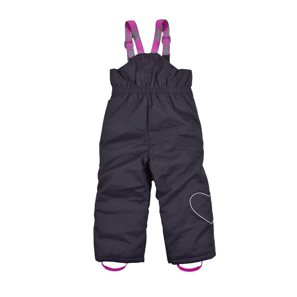 Полукомбинезон для девочки LENNE зимний штрипки шлейки ткань Active PLUS JACK HEILY
