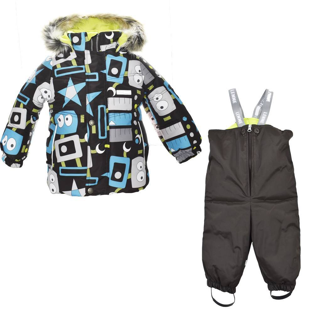 Комплект для мальчика LENNE зимний куртка полукомбинезон ROBY