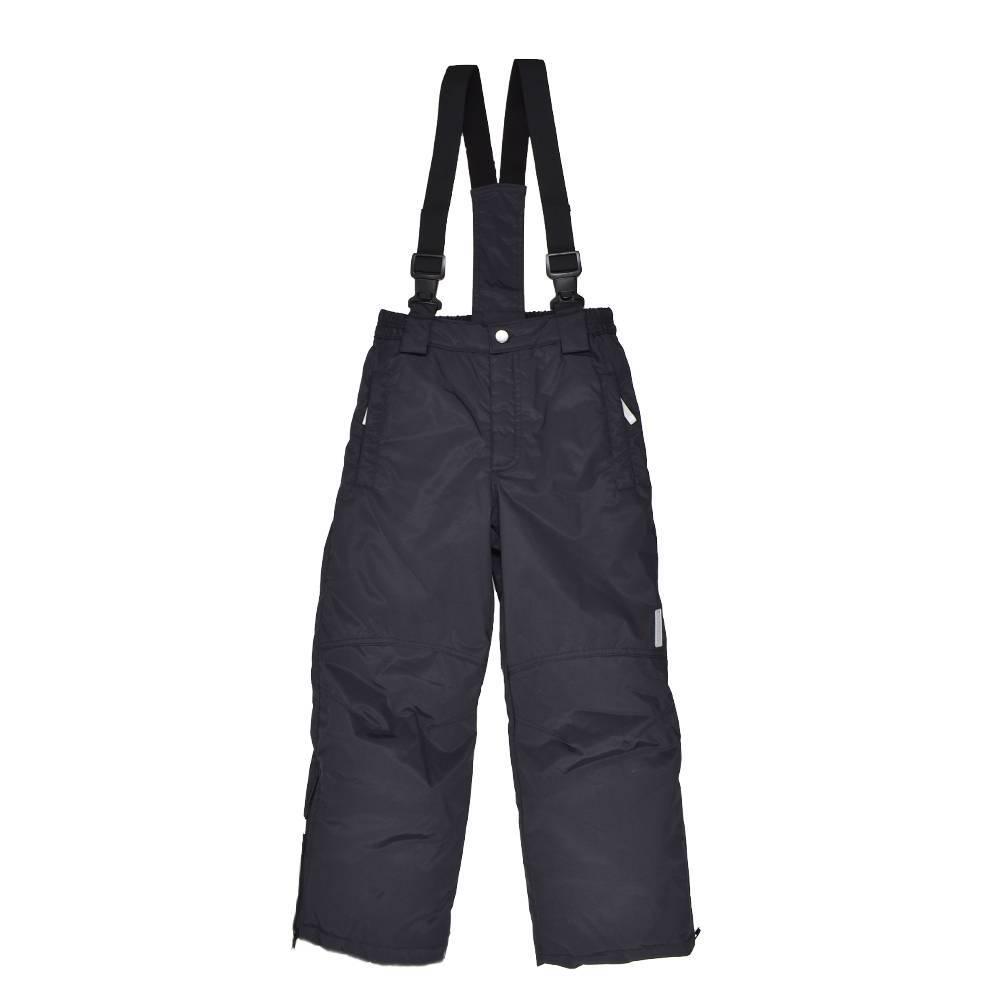 Штаны для мальчика LENNE зимний черный ткань Active PLUS COOPER